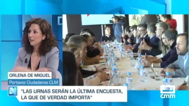 Orlena de Miguel, en CMM, sobre pactar con Vox: