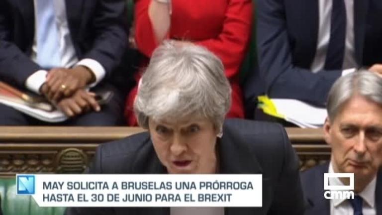 Brexit: May pide a la UE una prórroga hasta el 30 de junio
