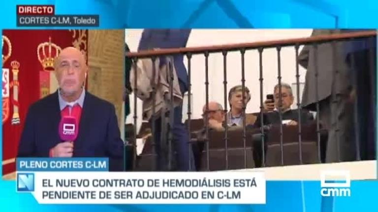Sostenibilidad, Ley de academias y hemodiálisis en el Pleno de Castilla-La Mancha