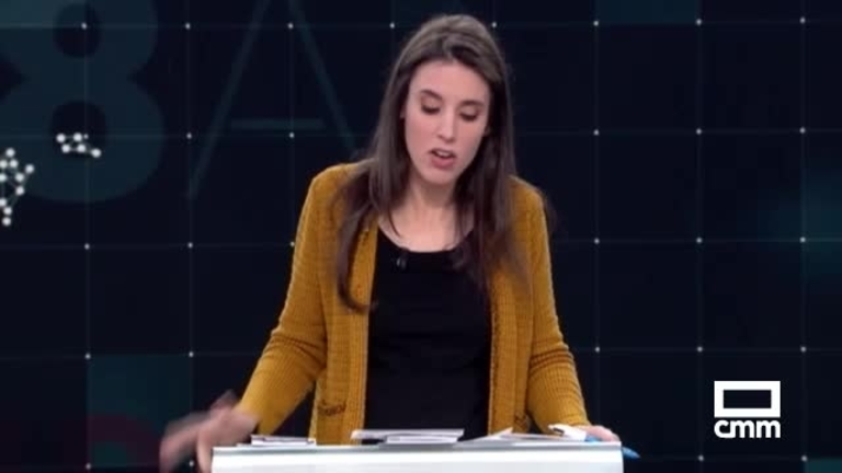 Unidas Podemos: Montero afirma que PP y Cs no resolveran la situación de Cataluña
