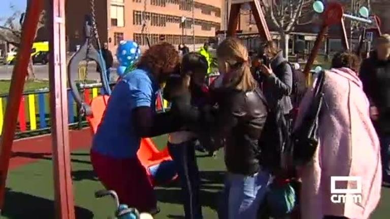 Nuevo parque inclusivo en Parapléjicos para jugar