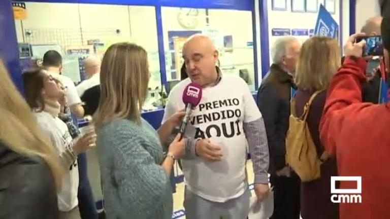 Cuenca reparte 88 millones de euros del 3.347, el Gordo de la lotería de Navidad