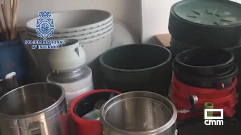 Desmantelado un importante laboratorio de cocaína: hay un detenido en Toledo