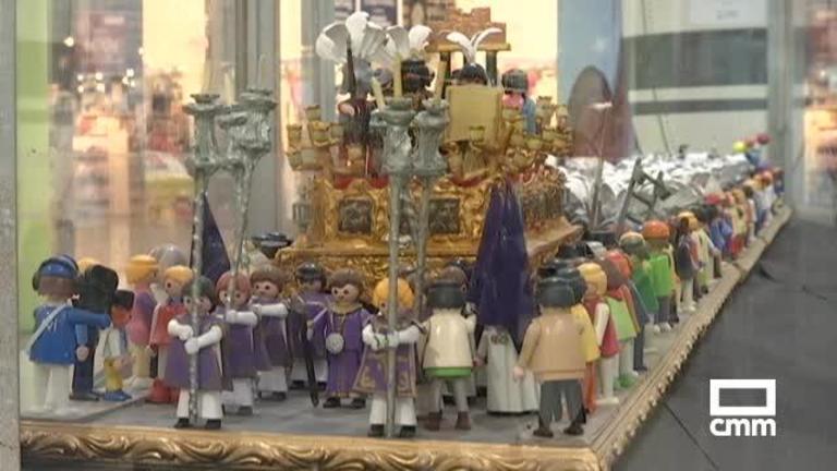 La Semana Santa en versión Playmobil del guadalajareño Javier Gamo se exhibe en Madrid