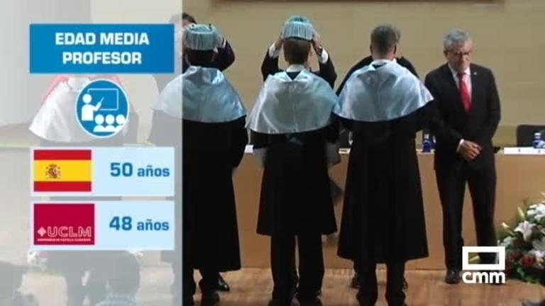 Uno de cada tres catedráticos de la UCLM se jubilará en los próximos siete años
