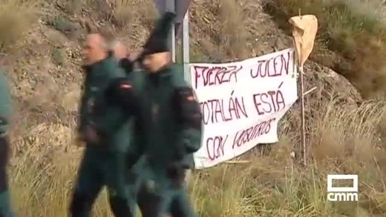 Los TEDAX y una perforadora de Guadalajara se suman al rescate de Julen en Totalán