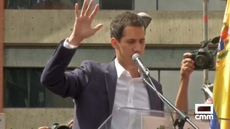 El líder opositor Juan Guaidó se proclama presidente de Venezuela