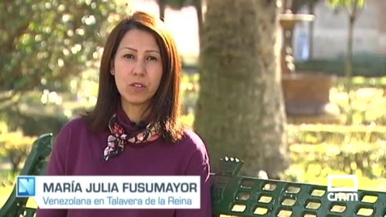 María Julia, venezolana en Talavera: