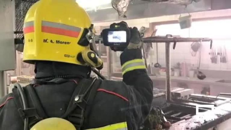 Un incendio obliga a desalojar el hotel Torremangana (Cuenca)