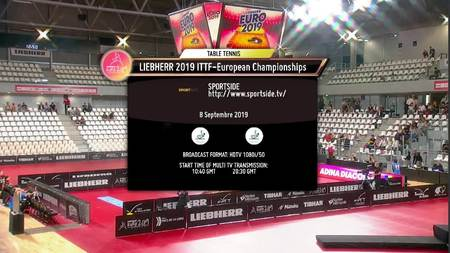 European Table Tennis Championships - 08/09/2019
