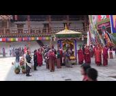 Recitation of Zhabdrung's Zhabten