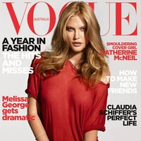 Catherine McNeil on Vogue