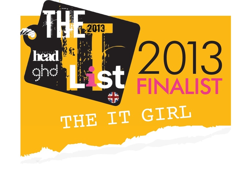 It Girl finalist for 2012 ITLIST Awards!