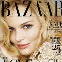Kate Bosworth on Harper's Bazaar