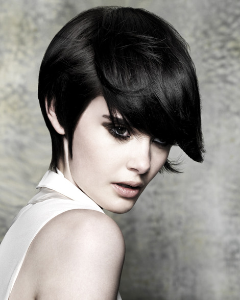 Short Sleek Hairstyle