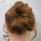 Bridesmaid Flower Bun