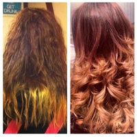 Dip Dye Colour Correction