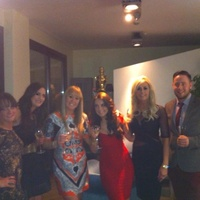 Night out in Ferrara, Italy, with ghd uk
