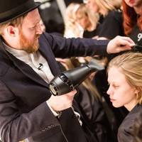 GHD AND DAVID KOMA LFW AW13