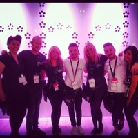 Working at salon international