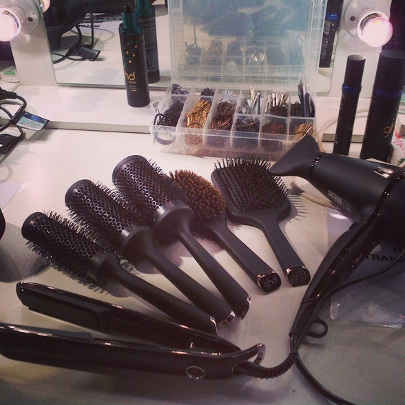 GHD Kit Backstage at LFW