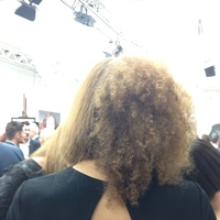 Afro to straight (back view) 2