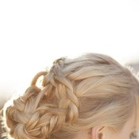 Wedding hair/ Bridal