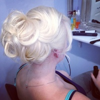 Hair up using ghd max styler