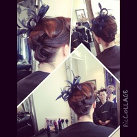 Wedding guest hair
