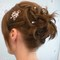 Bridal up-do short hair