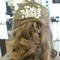 Bridal hair ghd curls