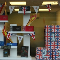 Olympic Window Display Aug 2012