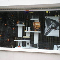 Window Displays to promote ghd products