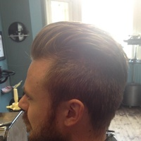Gents cut and styling