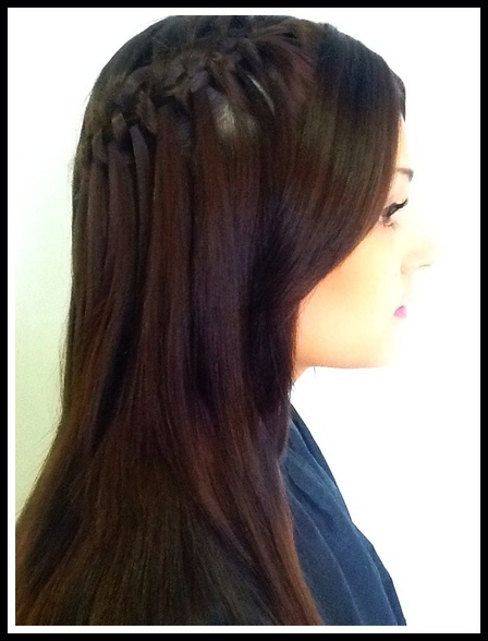 Waterfall braid/plait