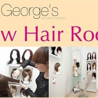George's New hair room