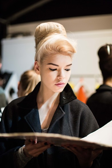 ghd AND PPQ AT LFW AW13