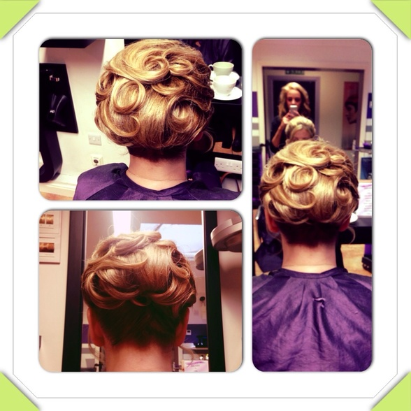 Hair up work!