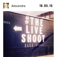 The Elle Live Shoot - Polaroids