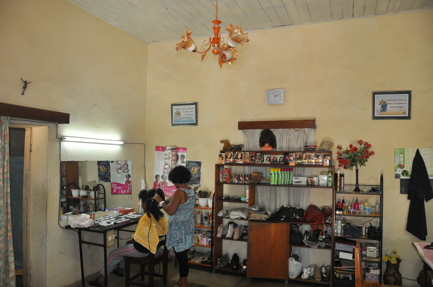 The salon in madagascar