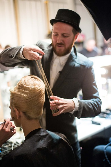 ghd and PPQ at London Fashion Week AW13