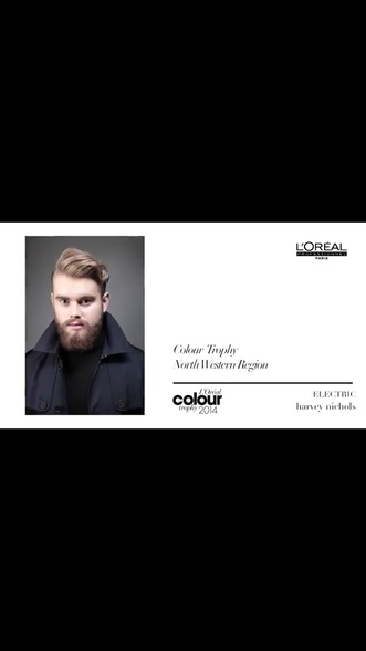 Loreal Colour Trophy Men's Image Award