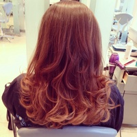Bouncy blowdry