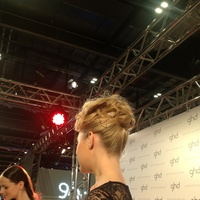 Updo with embellishment
