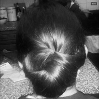 Simple hair up