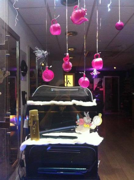 GHD Wonderland Window Display