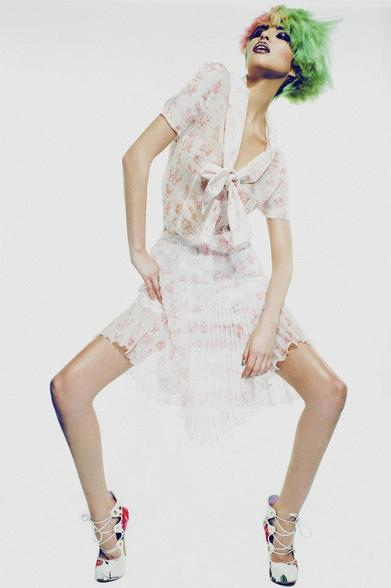 Vivvien Westwood ROUGH Magazine