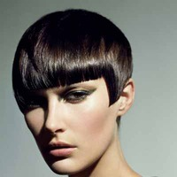 Short Blunt Hairstyle