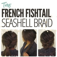 The French Fishtail Seashell Braid