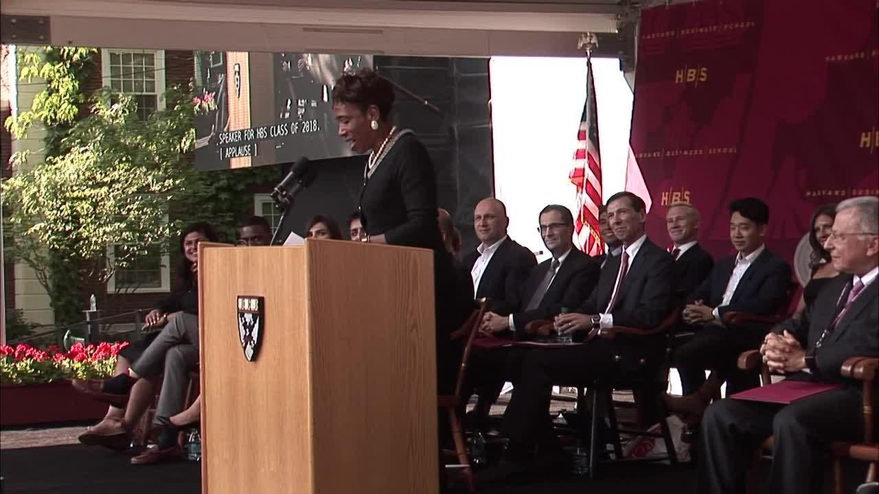 Harvard Business School's MBA Class of 2018 Celebrates Class Day